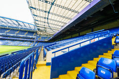 Chelsea FC Stamford Bridge Stadium. Chelsea Football Club Stamford Bridge Stadium, London, United Kingdom Stock Images