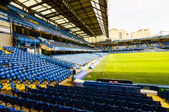 Chelsea FC Stamford Bridge Stadium. Chelsea Football Club Stamford Bridge Stadium, London, United Kingdom Stock Photography