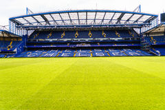 Chelsea FC Stamford Bridge Stadium. Chelsea Football Club Stamford Bridge Stadium, London, United Kingdom Royalty Free Stock Images