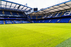 Chelsea FC Stamford Bridge Stadium. Chelsea Football Club Stamford Bridge Stadium, London, United Kingdom Stock Photo