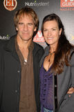 Chelsea Field, Scott Bakula Photo stock