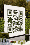 Chelsea Flower Show - QR Code Stock Photos