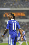 Chelsea football club player Didier Drogba Royalty Free Stock Photography