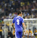 Chelsea football club player Fernando Torres Royalty Free Stock Photography