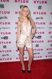 Chelsea Gabriel à la revue EN NYLON peut émettre la jeune réception de lancement de Hollywood, hôtel de Roosevelt, Hollywood, CA 0 photo libre de droits