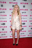 Chelsea Gabriel at the NYLON Magazine's May Issue Young Hollywood Launch Party, Roosevelt Hotel, Hollywood, CA. 05-12-10 Stock Photography