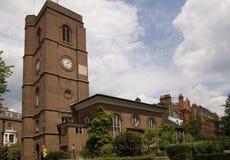 chelsea gammala kyrkliga london Royaltyfri Foto