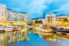 Chelsea Harbor Arkivbilder