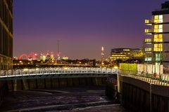 Chelsea Harbour London England stockbilder