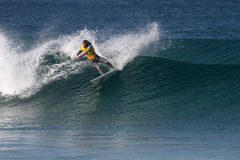 Chelsea Hedges. World surfing circuit in Portugal Stock Photography