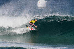 Chelsea Hedges. World surfing circuit in Portugal Stock Photo