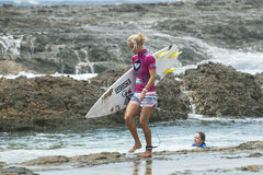Chelsea Hedges - Roxy Pro 2011 Stock Photography