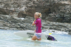Chelsea Hedges - Roxy Pro 2011 Stock Photos