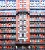 Chelsea Hotel. Front of the Chelsea Hotel in Manhattan, New York royalty free stock photos
