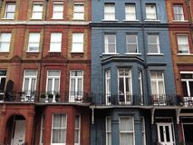 Chelsea Houses Facades Royalty Free Stock Images