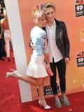 Chelsea Kane & Brian Logan Dales fotografia stock libera da diritti