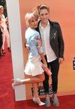 Chelsea Kane & Brian Logan Dales fotografie stock