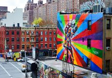 Chelsea, Manhattan Image libre de droits