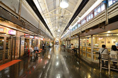 Chelsea Market. Is an upscale gourmet market built in a historic renovated warehouse in New York, NY Royalty Free Stock Photography