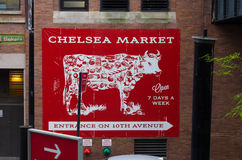 Chelsea market in New York Royalty Free Stock Photo