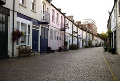 Chelsea mews Stock Photography