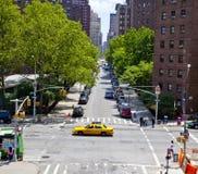 Chelsea NY街道场面 免版税库存照片
