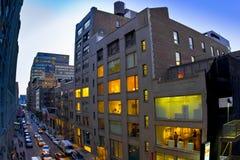 Chelsea NYC画廊 免版税库存图片