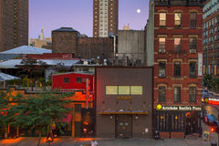 Chelsea NYC Evening Stock Images