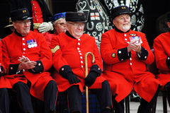 Chelsea Pensioners Royalty Free Stock Image