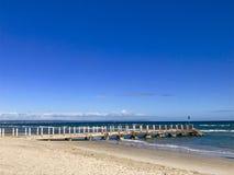 Chelsea Pier, Melbourne,Victoria ,Australia Stock Photography
