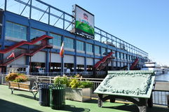 The Chelsea Piers Sports & Entertainment Complex in Manhattan Stock Photography