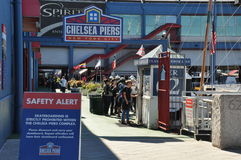 The Chelsea Piers Sports & Entertainment Complex in Manhattan Royalty Free Stock Image