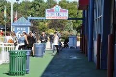 Chelsea Piers Sports & underhållningkomplexet i Manhattan Royaltyfri Foto