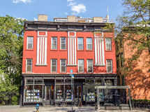 Chelsea quarter. Typical architecture, art galleries in Chelsea quarter at New York Stock Photography