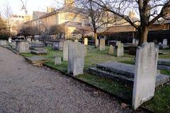 Chelsea Royal Hospital, vecchio cimitero, Londra, Regno Unito immagini stock libere da diritti