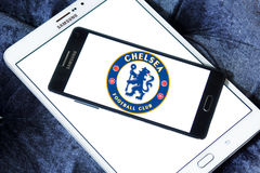 Chelsea soccer club logo Royalty Free Stock Photography