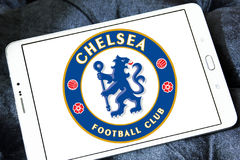 Chelsea soccer club logo Royalty Free Stock Photo