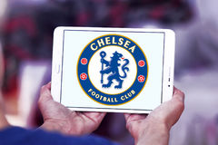 Chelsea soccer club logo Stock Photography
