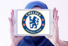 Chelsea soccer club logo Royalty Free Stock Images