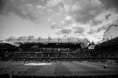 Chelsea stamford bridge. 13/14 Champions league quarter final. Chelsea VS Paris St German Stock Image