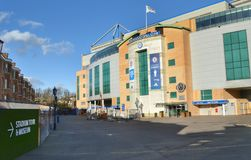 Chelsea Stamford Bridge football stadium Stock Photos
