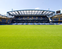 Chelsea Stamford Bridge Stadium Stock Image