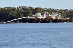 Chelsea Sugar Refinery - Auckland New Zealand Stock Images