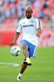Chelsea Tour 2011 Thailand. BANGKOK - JULY 24 : N.Anelka in action during Coke Super Cup :Chelsea Asia Tour 2011 Thailand. TPL All Star between Chelsea at Stock Image