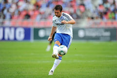 Chelsea Tour 2011 Thailand. BANGKOK - JULY 24 :F.Lampard in action during Coke Super Cup :Chelsea Asia Tour 2011 Thailand. TPL All Star between Chelsea at Stock Photos