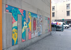 This Is, Chelsea Wall Mural, New York City, USA Stock Photos