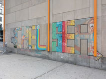 Chelsea Wall Mural, New York City, USA Royalty Free Stock Photos