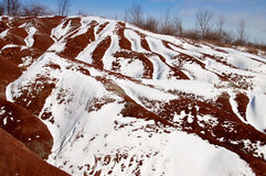 Cheltenham Badlands, Ontario Stock Images