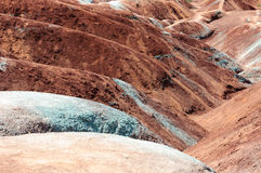 Cheltenham Badlands, Ontario, Canada Stock Photography