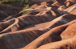 Cheltenham Badlands toczni wzgórza Zdjęcia Stock
